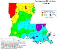 louisiana elevation map index of historical prism precipitaion maps