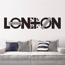 wall decoration wall sticker london lovely home decoration and