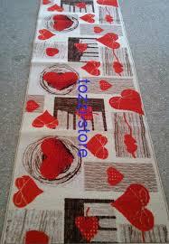 tappeto guida tappeto cuori passatoia cucina 57 x 380