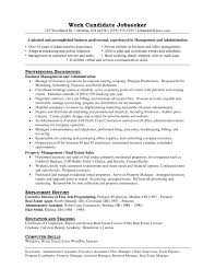 Office Manager Sample Resume Property Manager Sample Resume Property Management Resume Sample