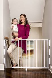 Baby Safety Gates For Stairs Regalo Top Of Stairs Adjustable Baby Safety Gate Walmart Canada