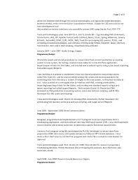 Pl Sql Developer Sample Resume by Donovan Campbell Detailed Resume