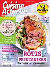 magazine cuisine actuelle cuisine actuelle n 318 du 09 mai 2017 à télécharger sur