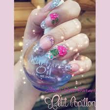 163 best petit papillon nails images on pinterest mermaid
