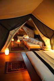 chambre style africain un safari au kenya sous des tentes confortables et luxueuses
