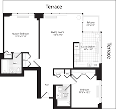 The Metropolitan Condo Floor Plan by 101 West End Apartments In Upper West Side 101 West End Avenue