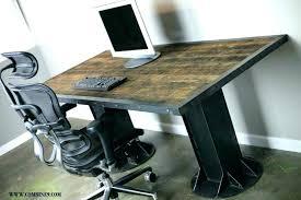 Rustic Office Desk Rustic Office Desk Furniture Modern Rustic Desk A Sustainable