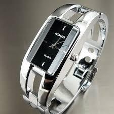 ladies bangle bracelet watches images Fashion women ladies kimio k1601l stainless steel quartz bracelet jpg