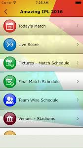 2016 ipl match list app shopper amazing ipl 2016 for cricket lovers schedule live