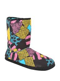 the nightmare before sally slipper boots topic