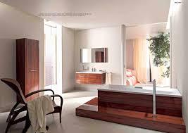 bathroom self made bathtub duravit wood panelled bathroom