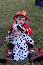 Big Kid Halloween Costumes Fireman Dalmation Hayden U0026 Sister Ohhhh