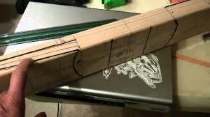 making wood blades for ceiling fan motor movie wmv youtube