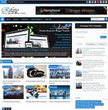 30 best cool u0026 simple blogger blogspot themes u0026 templates