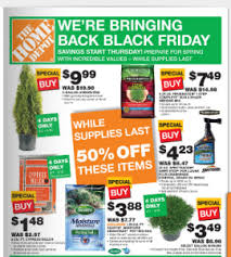black friday dealls home depot clipping money the home depot black friday spring ad