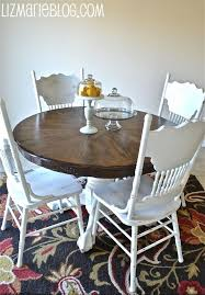distressed white dining table best 20 pine and chairs ideas