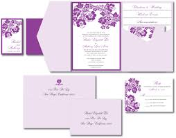 Blank Wedding Invitation Card Stock Lavender Wedding Invitation U2013 A Vibrant Wedding