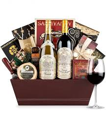 gift baskets with wine far niente wine gift basket luxury wine baskets a luxury