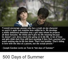 Joseph Gordon Levitt Meme - i would encourage anyone who has a crush on my character to watch