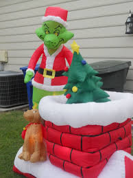 Animated Outdoor Christmas Decorations by Grinch Animated Inflatable Ebay Look To Buy Ebay Holidays