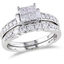 Walmart Wedding Ring Sets by 31 Best Rings Images On Pinterest White Gold Walmart And Bridal
