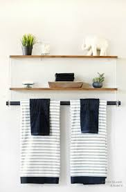 Diy Shelves For Bathroom by Challenge Yourself With Some Simple Diy Storage Ideas