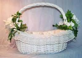 wedding baskets decorated baskets for weddings wedding corners