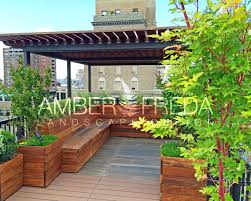 custom roof deck an urban oasis in chelsea amber freda home