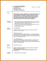 college student resume templates 8 images of resume of student lease template