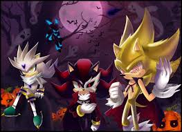 Sonic Shadow Halloween Costume Silver Hedgehog Fanart 2 Zerochan Anime Image Board