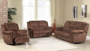 Brown Recliner Sofa Reclining Sofa In Brown Fabric W Optional Items