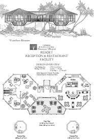 Commercial Floor Plan Software Online House Plan Waterfront Resort Reception U0026 Family Restaurant