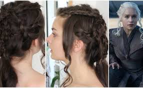 daenerys style hair daenerys targaryen got season 7 hair tutorial loepsie