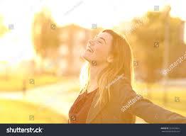 back light portrait happy single teen stock photo 561924664