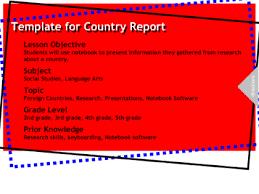 country brochure template smart exchange usa country report brochure template