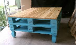Living Room Pallet Table Small Coffee Table