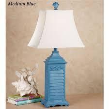 discount home decor catalogs online shell shutter table lamp