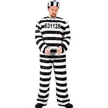 Prisoners Halloween Costumes Amazon Funworld Jailbird Prisoner Costume Clothing