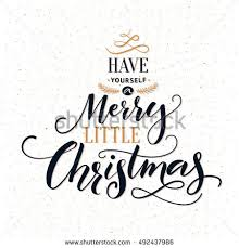 merry text black typography on stock vector 522287842