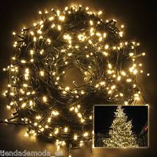 Ebay Christmas Lights Outdoor by 500leds 100m Warm White String Fairy Lights Party Wedding