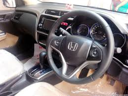 my new honda city cvt vx