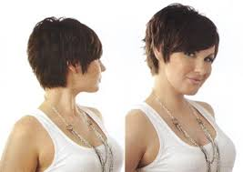 side and back views of shag hairstyle messy pixie haircut back view hairstyles for short hair keira