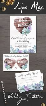 wedding invitations jacksonville fl rustic wedding invitation floral wedding invitation suite boho