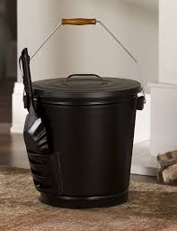 amazon com panacea 15343 ash bucket with shovel black garden