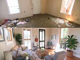 Before And After Living Rooms by Fixer Upper U0027 House Flips U2014 See The Before And After Photos