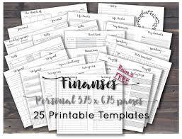 Debt Snowball Spreadsheet Finance Planner Happy Printables Budget Journal Inserts Sheets
