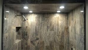 Bathroom Remodel Tile Shower Shower Ceiling Tile Modern Bathroom Atlanta By Ensotile