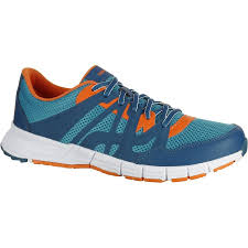 Sepatu Skechers Laki propulse walk s power walking shoes petrol blue orange pt