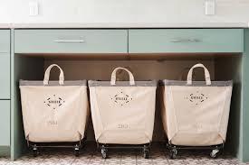 Laundry Room Cart - habitually chic laundry day