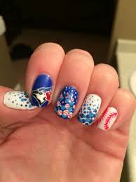 blue jays nails nail art designs pinterest jay baseball